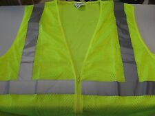 Armor Crest HI-VIS Safety Vest Yellow Cycling Hunting Construction