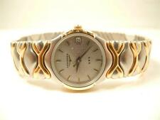 NEW OLD STOCK  LADIES SS/GOLD TONE  LONGINES  WRISTWATCH.