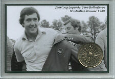 Seve Ballesteros Vintage PGA Golf The US Masters Winner Retro Coin Gift Set 1980