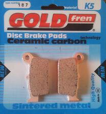 Goldfren plaquettes de freins k5 type 187 arrière yamaha yz 125 250 2003-2014 04 05 06 07