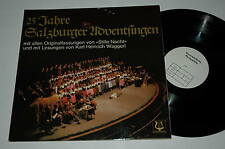 LP/25 JAHRE SALZBURGER ADVENTSINGEN/HEINRICH WAGGERL/Christophorus MUSTERPLATTE