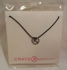 Crave Necklace Icon Calvin Klein NEW in Sealed Package Arrow Circle CK