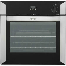 Belling BI60G Built In 60cm Single Cavity Gas Single Oven Stainless Steel New