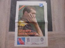 Supplément La Voix Du Nord – 20/06/1998 – Zidane le temps des regrets