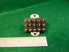 (1) Cinch Jones P-315-AB Male Chassis Plug Assembly NOS