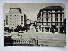 UDINE Piazzale stazione TRAM Tramway vecchia cartolina