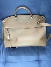 Furla Piper Large Handbag in Grey/Brown