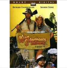 King Solomon's Mines (1985) DVD - Richard Chamberlain (New & Sealed)