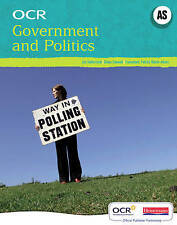 OCR AS Government and Politics Student Book,ACCEPTABLE Book