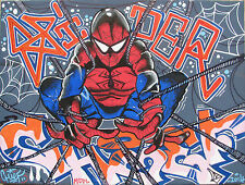 CHIEF (Milan 1985) SPIDER CHIEF Graffiti StreetArt Urban writer Marvel SpiderMan