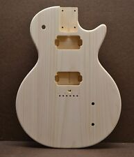 CUSTOM ORDER SC UNFINISHED WHITE PINE GUITAR BODY FITS STRATOCASTER NECK