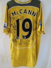 Bolton Wanderers Signed Gavin McCann Away Football Shirt with COA /8091