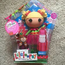 "Lalaloopsy Holly Sleighbells New In Box Walmart Exclusive 2009 12"" Doll"