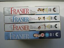 FRASIER SERIES ONE, TWO, THREE & FOUR, A FEW DVDS HAVE LIGHT MARKS GRADE 8-9/10