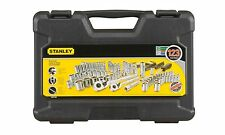 NEW Stanley STMT71652 123-Piece Socket Set Chrome Vanadium Forged Tool