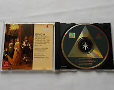 HARNONCOURT / BACH Cantatas BWV 197 & 205 GERMANY CD TELDEC (1996) MINT