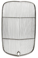 NEW 1932 FORD HI-BOY RADIATOR POLISHED GRILLE INSERT,CRANK HOLE,STAINLESS,GRILL