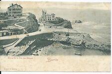CPA 64 - BIARRITZ - Entrée de la Côte des Basques
