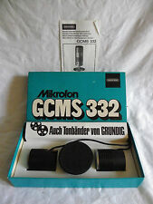 GRUNDIG MIKROFON GCMS 322 KOMPLETT IN OVP