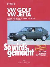 WERKSTATTHANDBUCH REPARATURANLEITUNG SO WIRD´S GEMACHT 44 VW GOLF II 2 JETTA