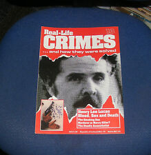 REAL LIFE CRIMES NUMBER 13 - HENRY LEE LUCAS BLOOD, SEX AND DEATH/CARL COPPOLINO