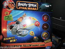 STAR WARS ANGRY BIRDS MILLENNIUM FALCON BOUNCE GAME, NEVER OPENED.