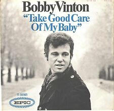 BOBBY VINTON--PICTURE SLEEVE ONLY--(TAKE GOOD CARE OF MY BABY)---PS--PIC--SLV
