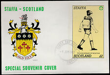 GB Locals - Staffa (1313) 1982 SCOUTS 75th Anniv  £2 sheet on first day cover