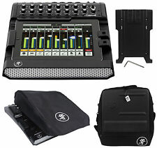 Mackie DL1608 Lightning 16-ch. Mixer w/lPad Control+Bag+iPad Tray Kit+Dust Cover