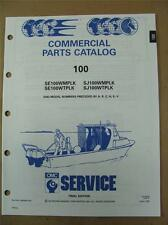 1991 Johnson Evinrude 100 HP WMP / WTP Commercial Outboard Parts Catalog 434264