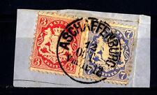GERMAN STATES - GERMANIA ANTICHI STATI - BAVIERA - 1870 - Stemma nazionale. Stam