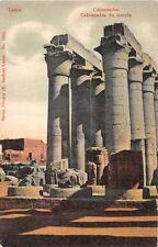 LUXOR EGYPT COLONNADES de TEMPLE SAVOY LIBRARY (N ZACHOS) # 1510 POSTCARD