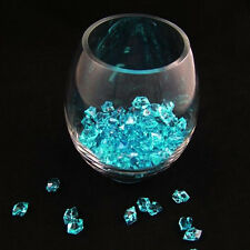 500pcs Mini Size Blue Acrylic Ice Stone Rock Vase Gems or Table Scatters Party