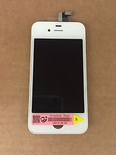 GENUINE OEM QUALITY LCD Touch Screen Ricambio per ORIGINALE iPhone 4S Bianco