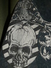 AFFLICTION Live Fast T-Shirt Gray Wings Skull MMA Size Men's Large or Medium