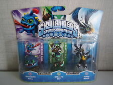 Skylanders Spyro's Adventure- Wrecking Ball, Stealth Elf, Sonic Boom - NIP