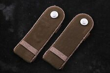NOS Hungarian Peoples Army NCO Sergeant Staff Master Board Tab Pair Field Camo