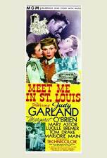 MEET ME IN ST. LOUIS Movie POSTER 27x40 Judy Garland Margaret O'Brien Mary Astor
