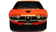 20 different photos printed on glossy paper ALFA ROMEO MONTREAL lot 2