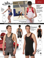 Jalie Men's & Boys' Gymnastics Leotard & Singlet/Biketard Sewing Pattern # 2912