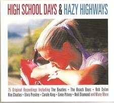 HIGH SCHOOL DAYS & HAZY HIGHWAYS - 3 CD BOX SET - 75 ORIGINAL RECORDINGS