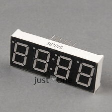 "Neu 0.56"" Inch 4 Stelligen 7 Segment LED Display Rot Numerische Digital Anzeige"