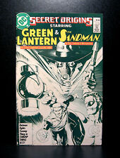 COMICS: DC: Secret Origins #7 (1980s), Green Lantern/Sandman  - RARE (superman)