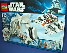 LEGO 8089 HOTH WAMPA CAVE star wars RETIRED NEW 297 pcs