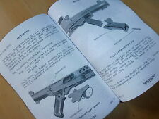 Sterling 9mm. SMG.L2A3, and L34A1.User handbook