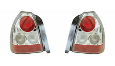 HONDA CIVIC EK EJ 1996-2000 LEXUS STYLE CLEAR REAR TAIL LIGHTS LAMPS PAIR Y0210