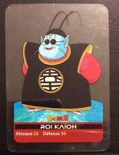 DRAGONBALL Z Lamincards n° 17 ROI KAIOH carte d'occasion Dragon Ball