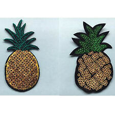 Hotsale Pineapple Fabric Patches Stickers Clothes Decoration Diy Accessories
