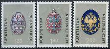 Liechtenstein 2001 SG#1243-5 Decorated Easter Eggs MNH Set #D2040