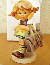 HUM #538 SCHOOL'S OUT TM7 GOEBEL M.I. HUMMEL FIGURINE GERMANY FIRST ISSUE MIB